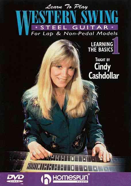 LEARN TO PLAY WESTERN SWING STEEL GUI BY CASHDOLLAR,CINDY (DVD)